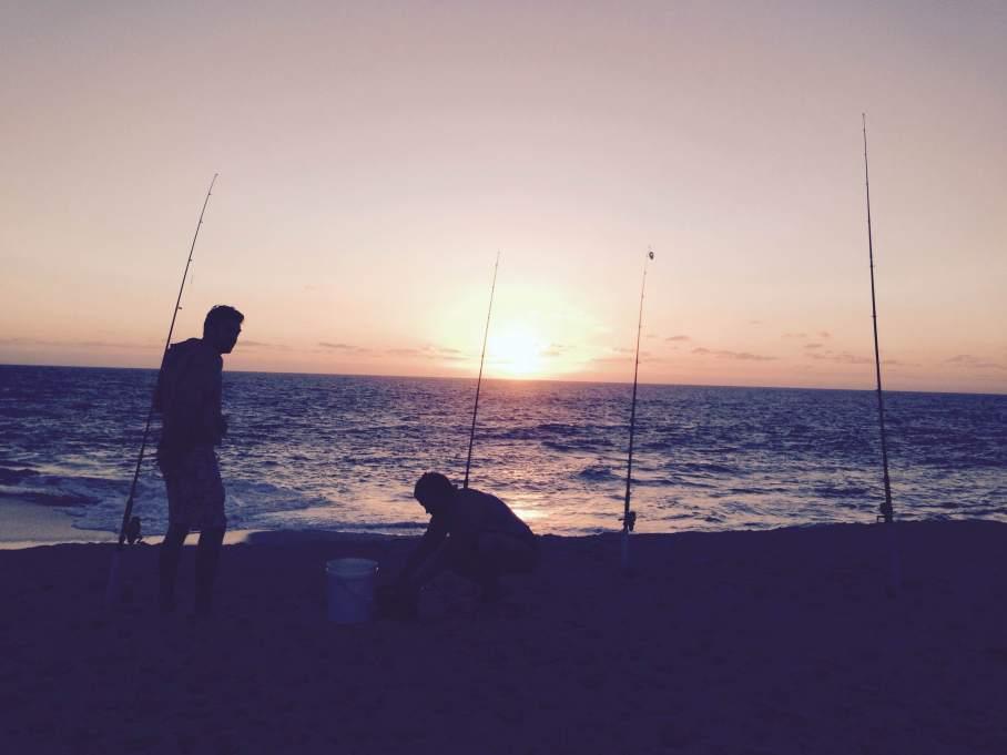 Un tour a deux blog voyage travel  perth australia kalbarri western australia peche fishing coucher de soleil