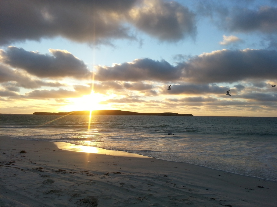 Un tour a deux blog voyage travel perth australia lancelin western australia sunset