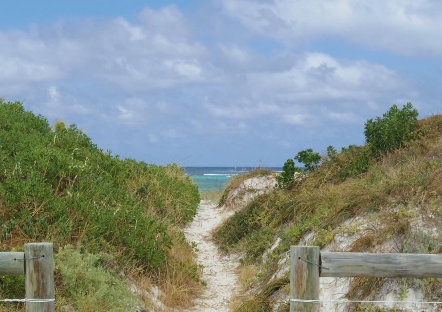 Un tour a deux blog voyage travel perth australia lancelin western australia vue acces beach plage untouradeux.com