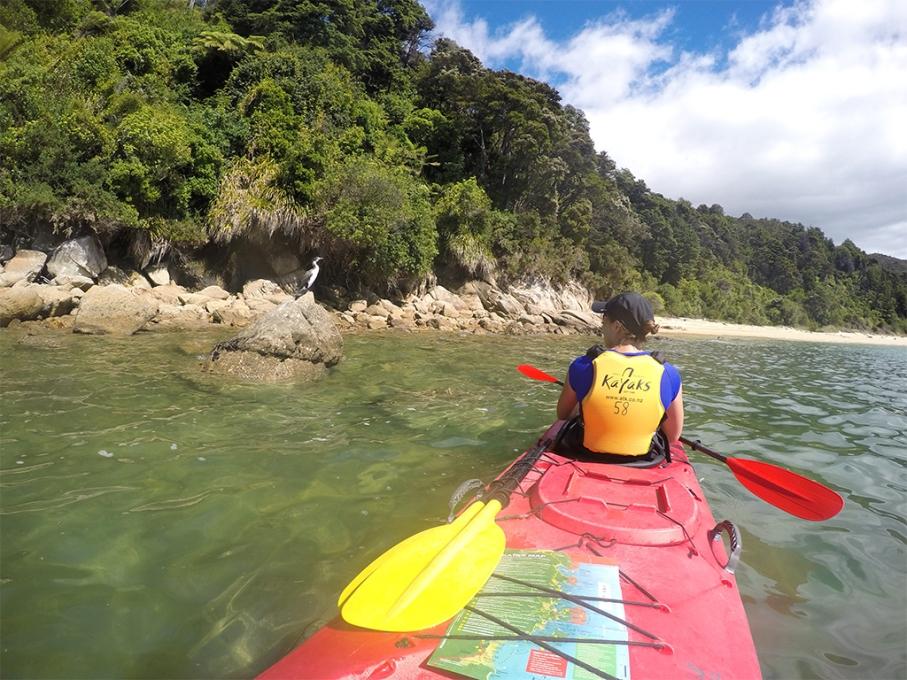 Un tour a deux blog voyage travel nouvelle zelande new zealand abel tasman park journee kayak