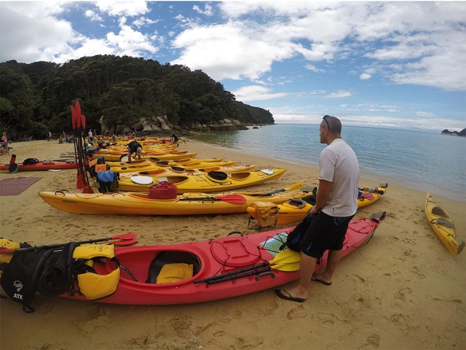 Un tour a deux blog voyage travel nouvelle zelande new zealand abel tasman park kayak break