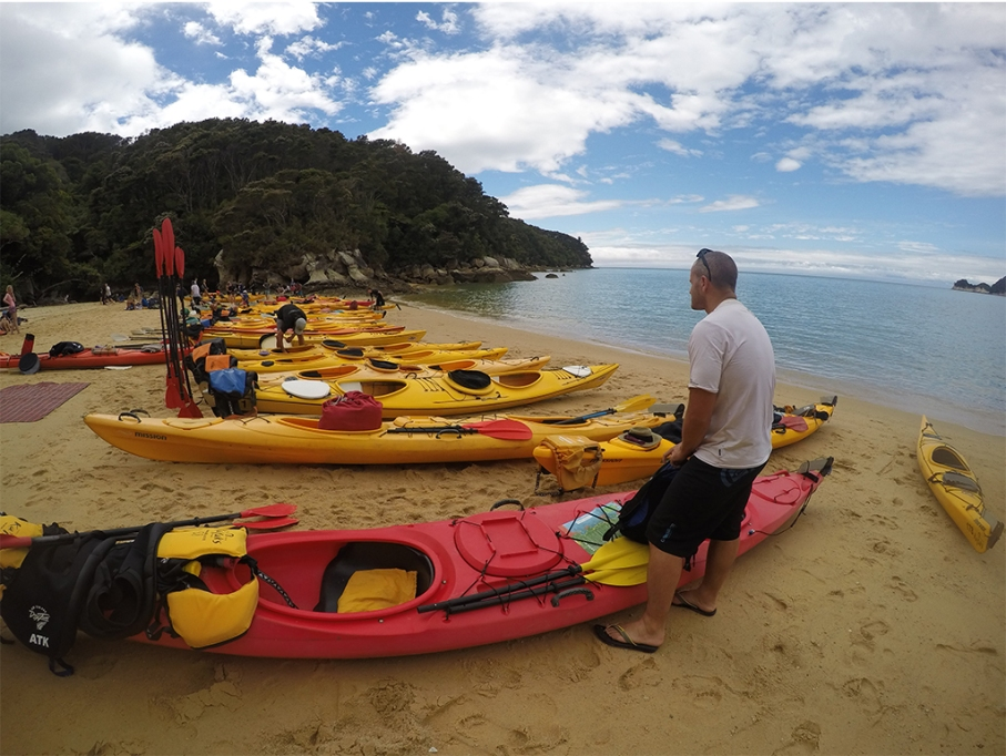 Un tour a deux blog voyage travel nouvelle zelande new zealand abel tasman park kayak break