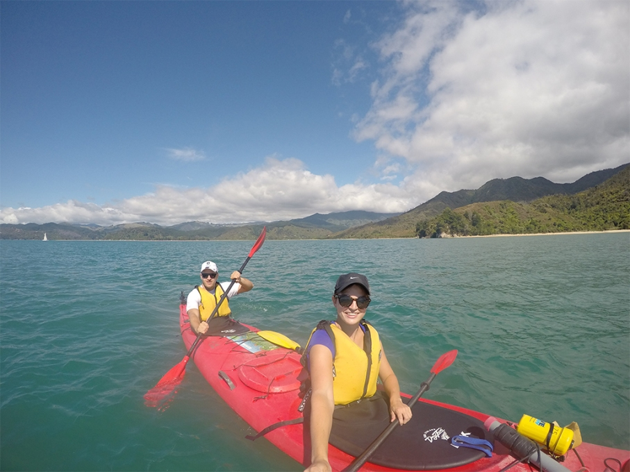 Un tour a deux blog voyage travel nouvelle zelande new zealand abel tasman park kayak double