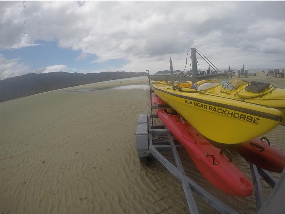 Un tour a deux blog voyage travel nouvelle zelande new zealand abel tasman park kayak go pro tasman sea back
