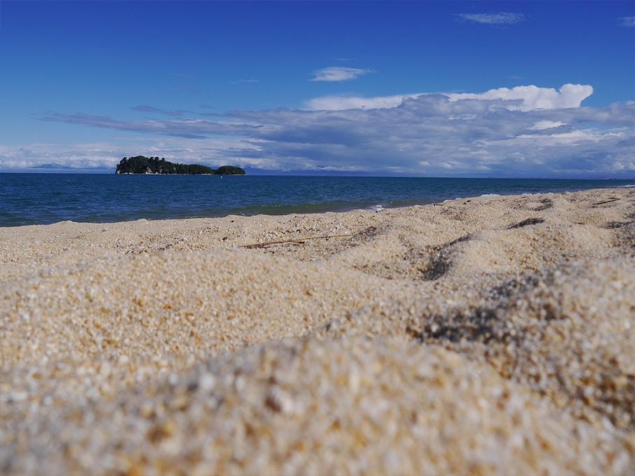 Un tour a deux blog voyage travel nouvelle zelande new zealand abel tasman park kayak go pro tasman sea plage sable