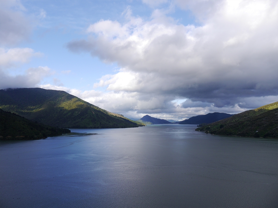 Un tour a deux blog voyage travel nouvelle zelande new zealand abel tasman park kayak go pro tasman sea vue lac