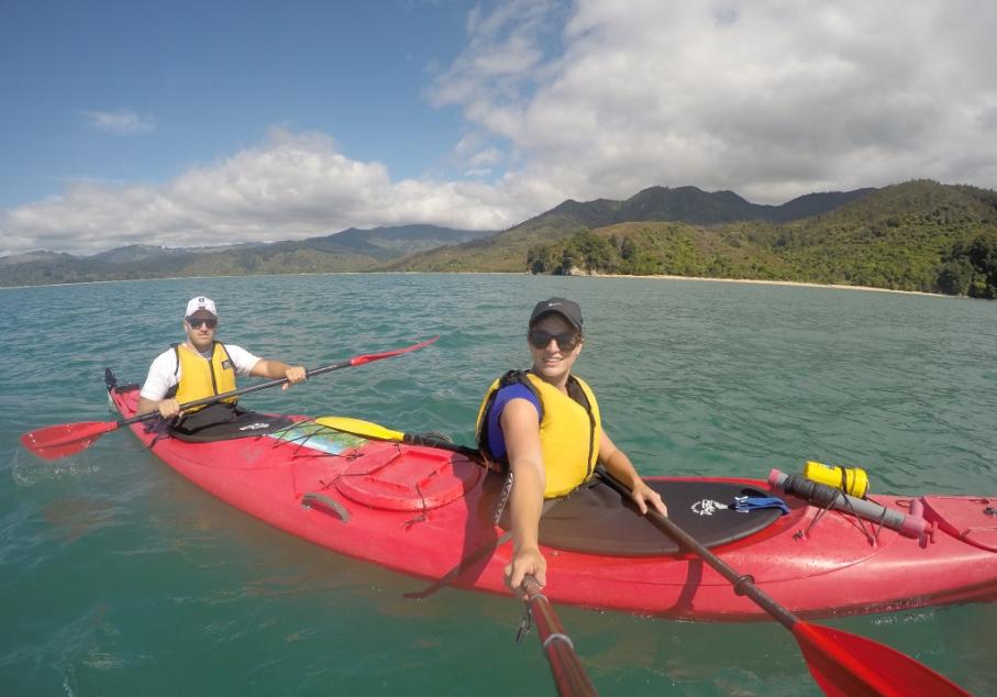 Un tour a deux blog voyage travel nouvelle zelande new zealand abel tasman park kayak