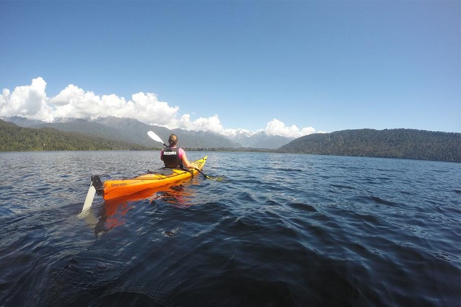 Un tour a deux blog voyage travel nouvelle zelande new zealand franz joseph glacier lac mapourika kayak roadtrip