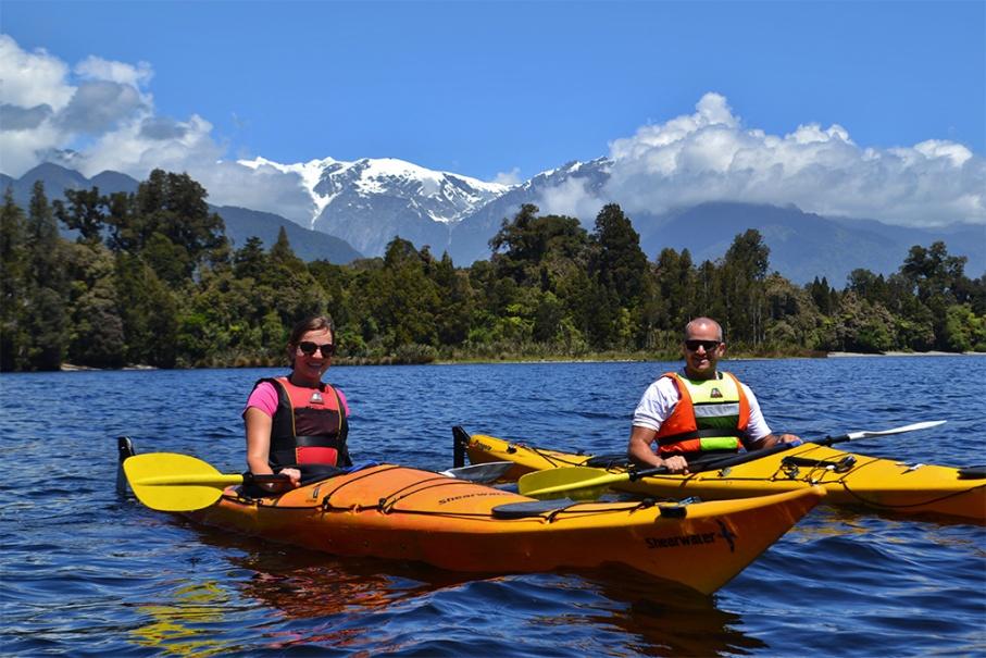 Un tour a deux blog voyage travel nouvelle zelande new zealand franz joseph glacier lac mapourika untouradeux.com