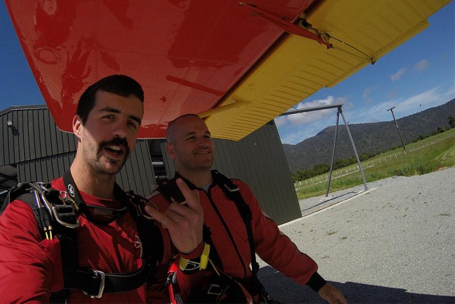 Un tour a deux blog voyage travel nouvelle zelande new zealand franz joseph glacier skydive untouradeux