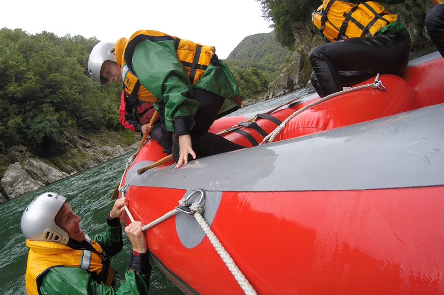 Un tour a deux blog voyage travel nouvelle zelande new zealand murhison river rafting boat
