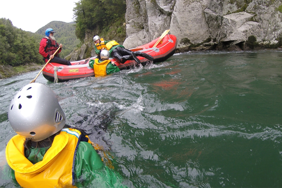 Un tour a deux blog voyage travel nouvelle zelande new zealand murhison river rafting tour