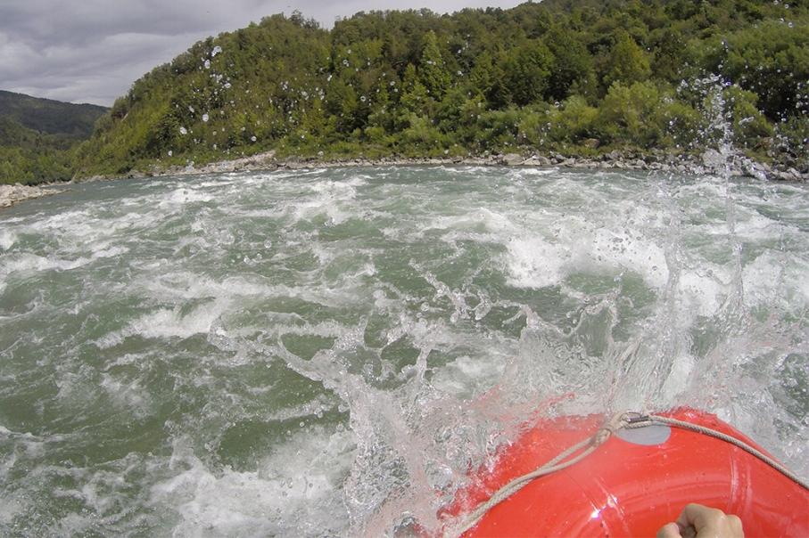 Un tour a deux blog voyage travel nouvelle zelande new zealand murhison river rafting vague