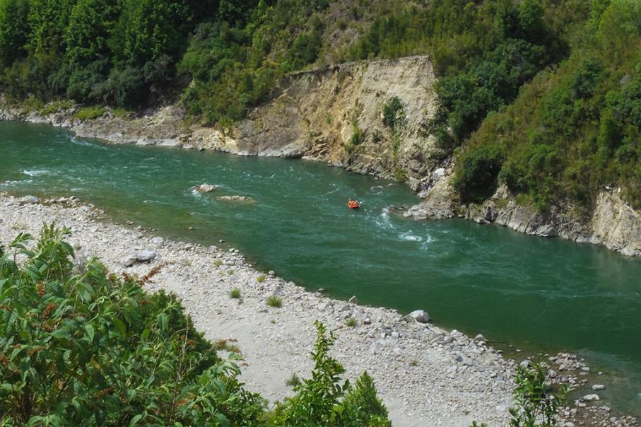 Un tour a deux blog voyage travel nouvelle zelande new zealand murhison river rafting vue