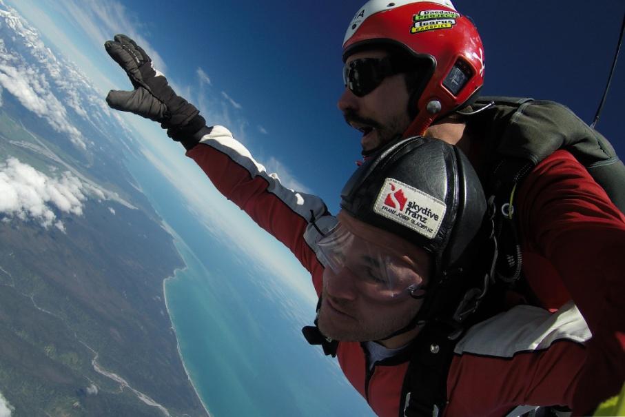 Un tour a deux blog voyage travel nouvelle zelande new zealand skydive franz joseph glacier untouradeux