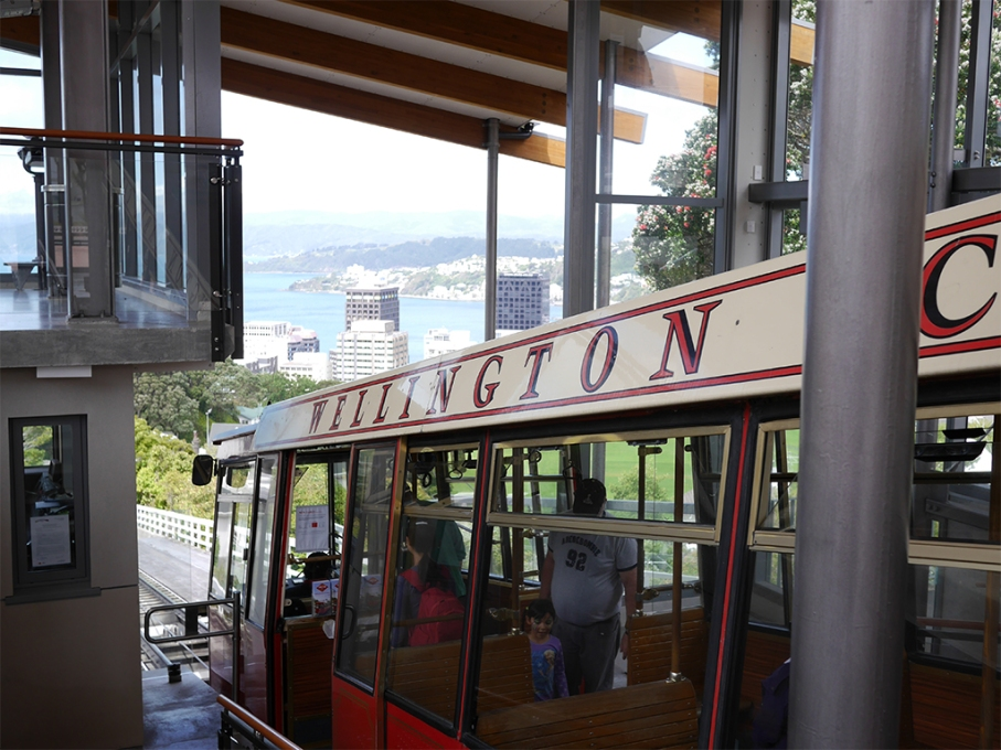 Un tour a deux blog voyage travel nouvelle zelande new zealand wellington botanical garden cable car