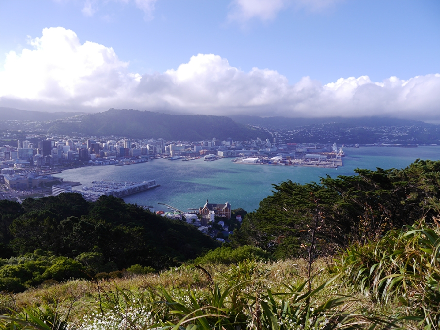 Un tour a deux blog voyage travel nouvelle zelande new zealand wellington mount victoria view