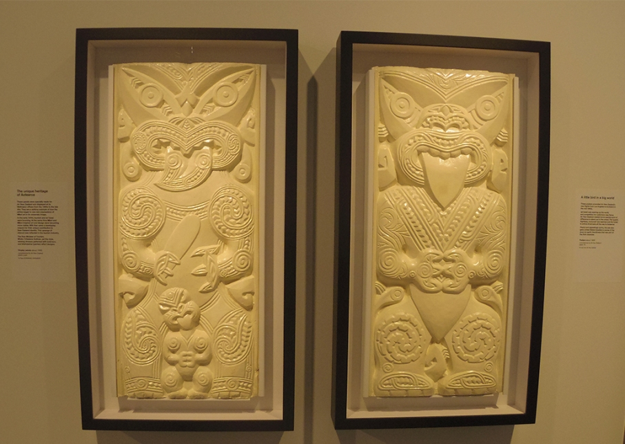 Un tour a deux blog voyage travel nouvelle zelande new zealand wellington te papa museum maori art