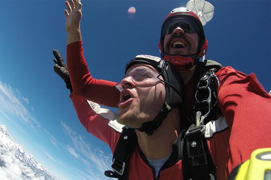 Un tour a deux blog voyage travel nouvelle zelande skydive new zealand franz joseph glacier fun untouradeux