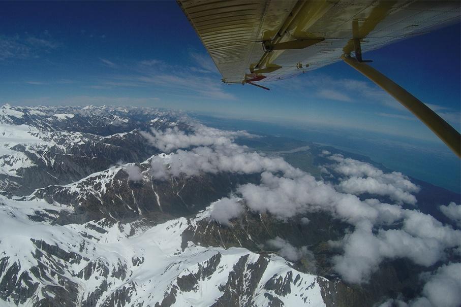 Un tour a deux blog voyage travel nouvelle zelande skydive new zealand franz joseph glacier sky untouradeux