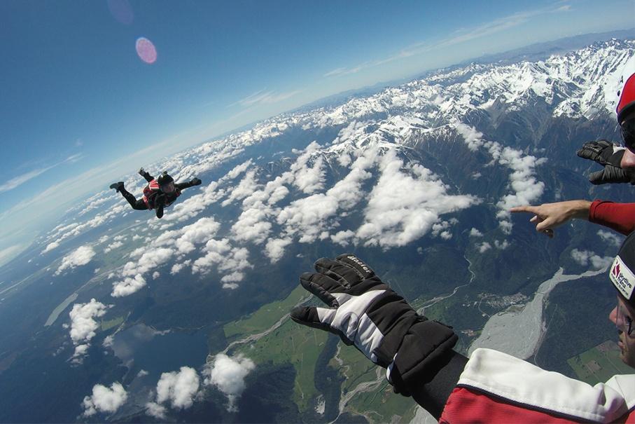 Un tour a deux blog voyage travel nouvelle zelande skydive new zealand franz joseph glacier untouradeux