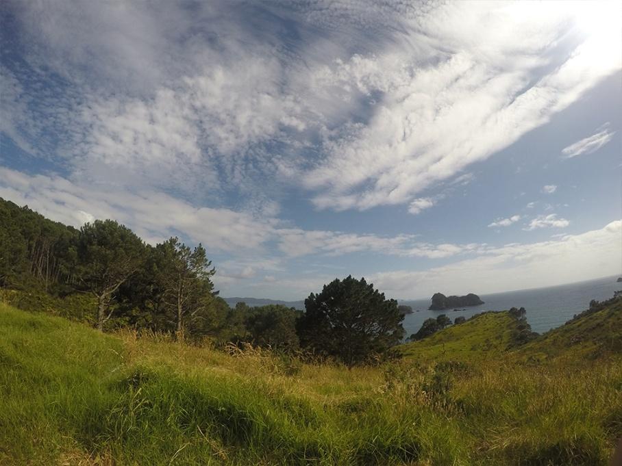Blog Nouvelle Zelande travel voyage untouradeux tauranga vieuw vue coromandel randonnee