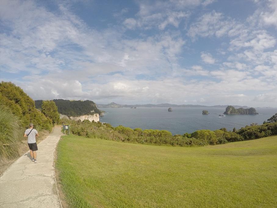 Blog Nouvelle Zelande travel voyage untouradeux tauranga vieuw vue coromandel