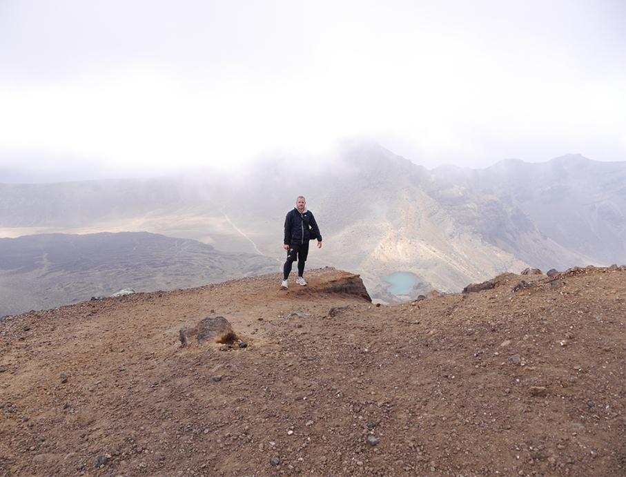 Un tour a deux blog travel voyage nouvelle zelande new zealand tongariro alpine crossing pose