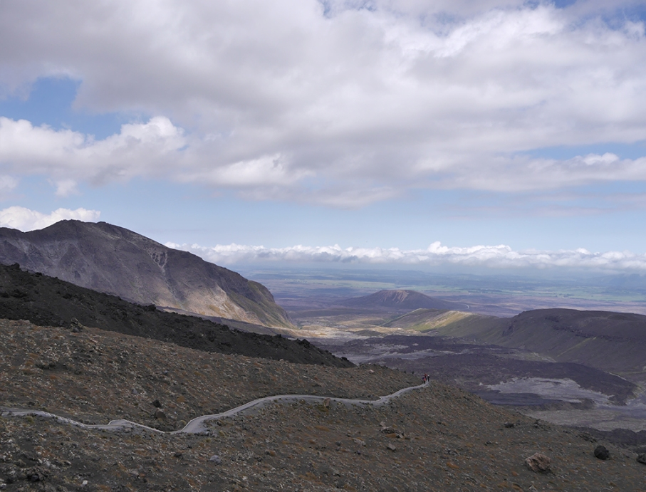 Un tour a deux blog travel voyage nouvelle zelande new zealand tongariro alpine crossing vue lac