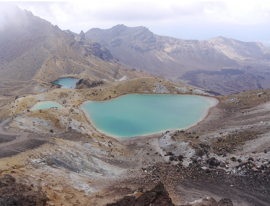 Un tour a deux blog travel voyage nouvelle zelande new zealand tongariro alpine crossing vue