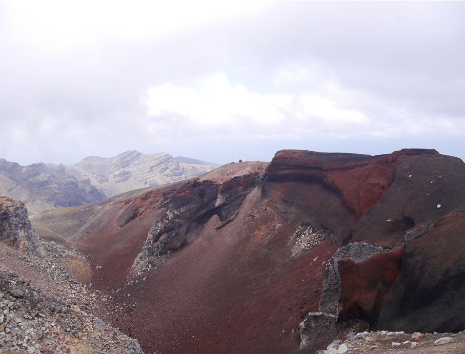 Un tour a deux blog travel voyage nouvelle zelande new zealand tongariro alpine red crater crossing