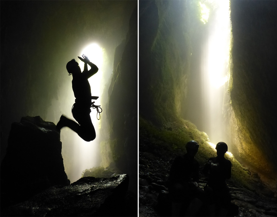 Un tour a deux blog voyage travel nouvelle zelande new zealand waitomo cave world epic tour caves saut