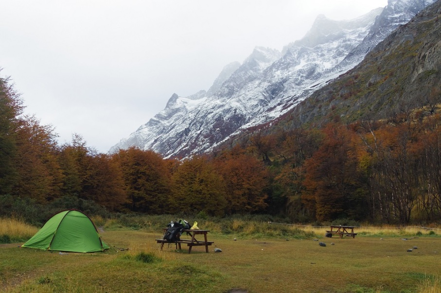 Un tour a deux blog voyage travel chile torres del paine patagonia trek holiday camping