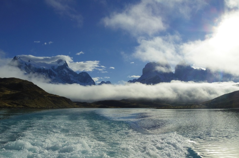 Un tour a deux blog voyage travel chile torres del paine patagonia trek lake